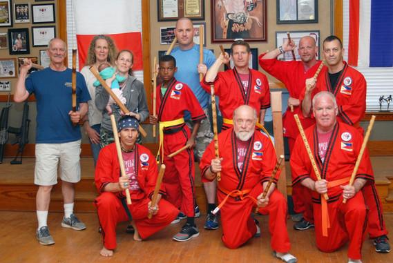 Snake Blocker -Filipino Stick & Knife Fighting Seminar, Blocker Academy of Martial Arts, Kansas