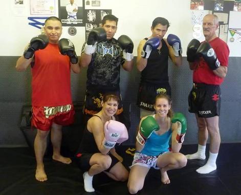 Snake Blocker teaching Muay Thai - Blocker Academy of Martial Arts affiliate, Federal Heights, Colorado