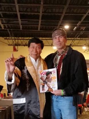 Sifu Chi Ling Chiu & Sifu Snake Blocker