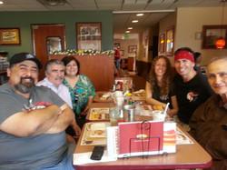 Uncle Bill, Snake & Melissa Blocker, Paul Bruitron III and Students