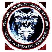 Jim McCann's logo, Multi-World Champion Fighter