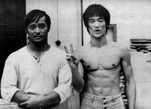 Sifu Dan Inosanto and Sijo Bruce Lee