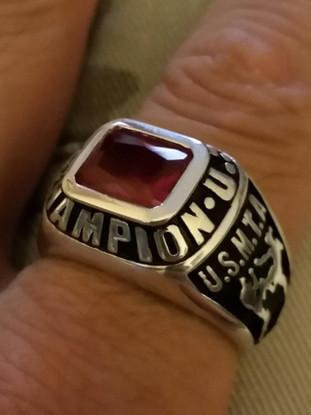 Snake Blocker's United States Muay Thai Association Champion Fighter Ring