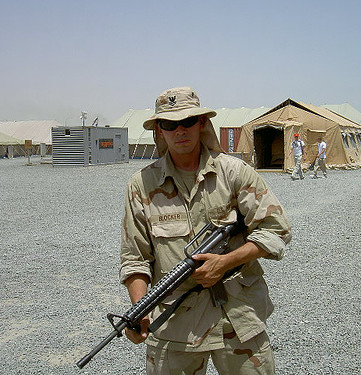 Petty Officer Snake Blocker - Kuwait 2004