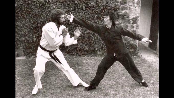 Bob Wall and Bruce Lee