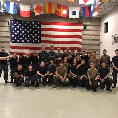 Snake Blocker, Sea Cadet Instructor on Military Close Quarters Combat (MCQC)