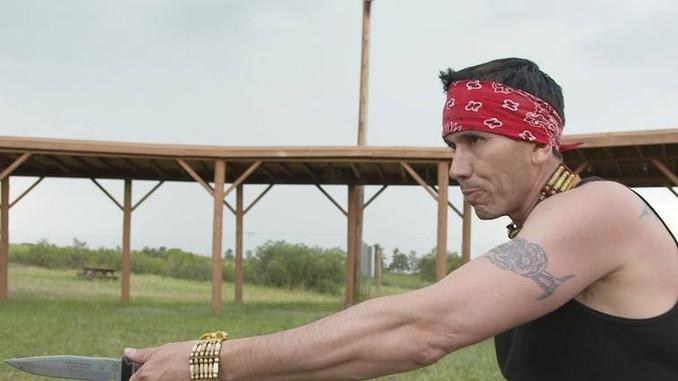 Snake Blocker filming Doomsday Preppers, In the Hurt Locker episode, Season 2