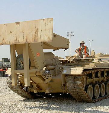 Petty Officer Snake Blocker in Kuwait - 2004