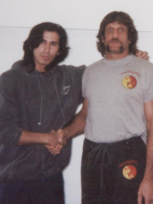 Snake Blocker & Bart Vale, Former Shoot Fighting Champion