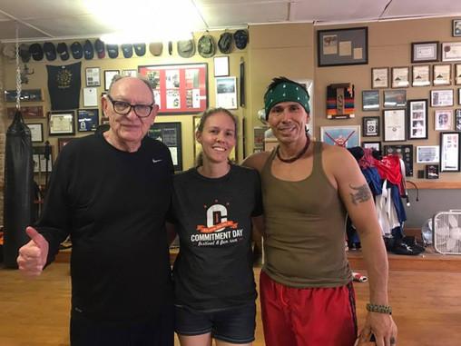 Tim Tackett, Melissa and Snake Blocker - Blocker Academy of Martial Arts, Kansas
