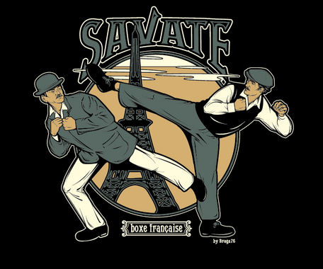 Savate (French Foot-Fighting)