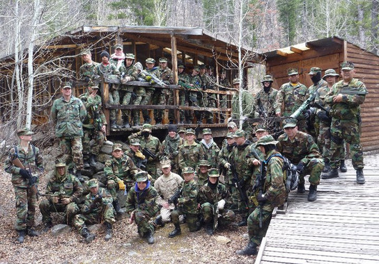Snake Blocker - Sea Cadet Combatives Instructor at Sea Cadet Winter Camp, Colorado