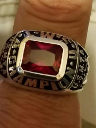 Snake Blocker's United State Muay Thai Association (USMTA) Champion Fighters Ring