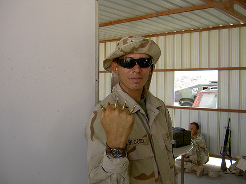 Petty Officer Snake Blocker - Kuwait 2004 Tour