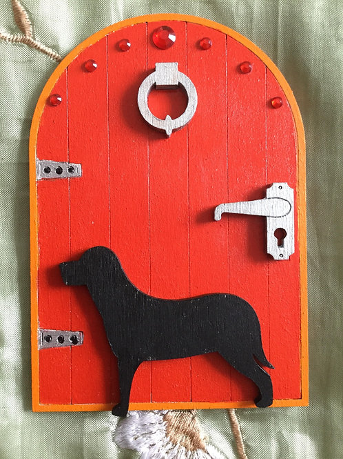 Fairy Door With Large Dog