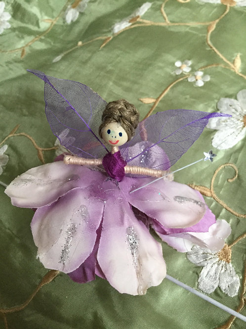Peony Flower Fairy Doll