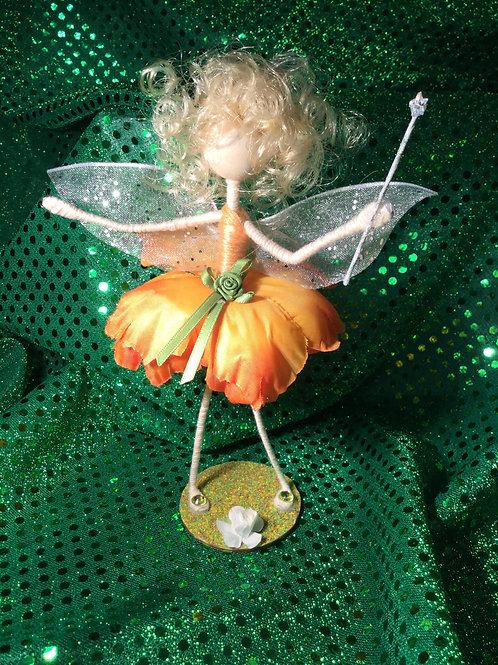 Daernerys - Poppy Clan - Small Standing Fairy
