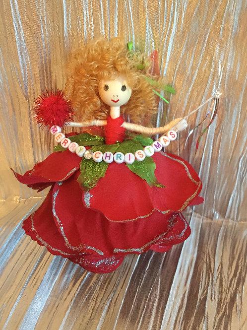 Christmas Rose Fairy