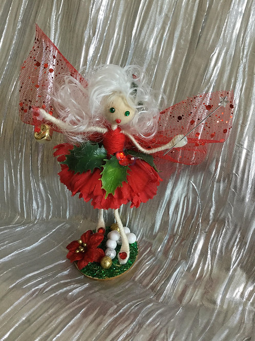 Christmas Holly Fairy - Bell