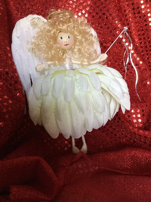 Large Christmas Angel Flower Fairy