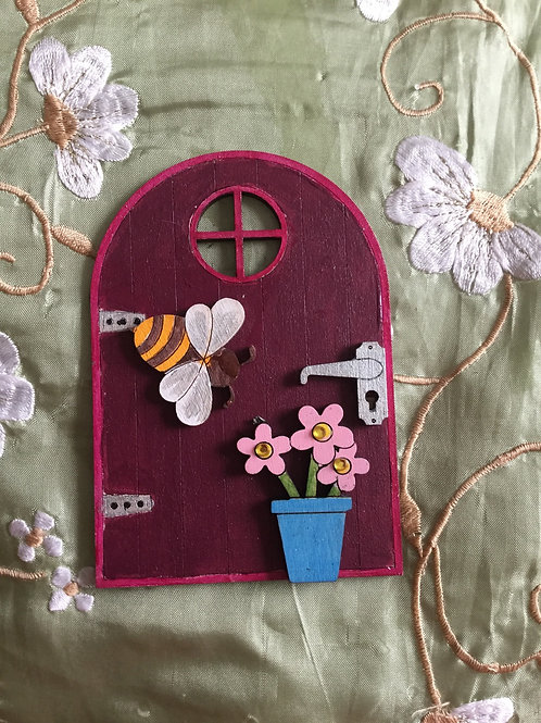 Basic Fairy Door With Window