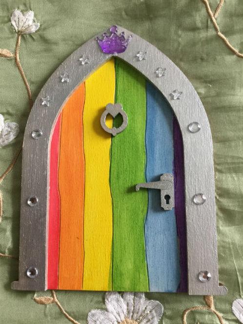 Royal Rainbow Door