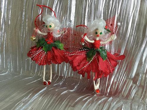 Mini Christmas Tree Fairy Decoration