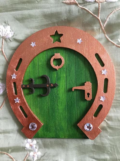 Lucky Horshoe Fairy Door
