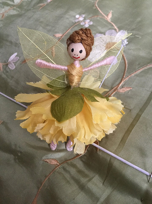 Carnation Flower Fairy Doll