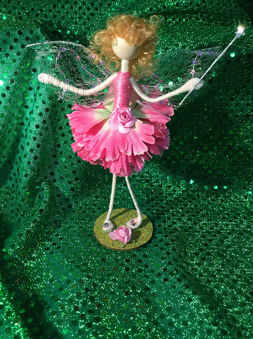 Fay - Carnation Clan - Small Standing Fairy