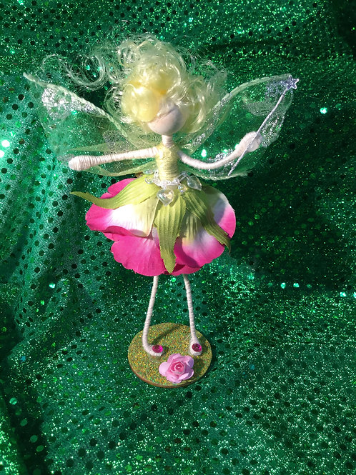 Avery - Rose Clan - Small Standing Fairy