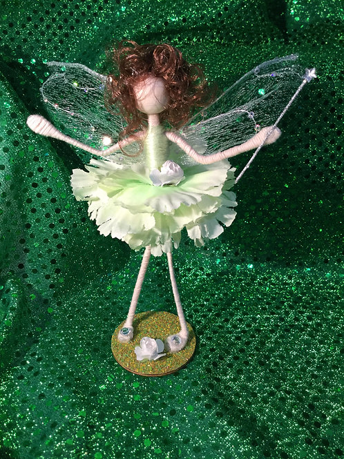 Fiona - Carnation Clan - Small Standing Fairy