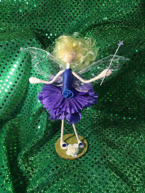 Giselle - Carnation Clan - Small Standing Fairy