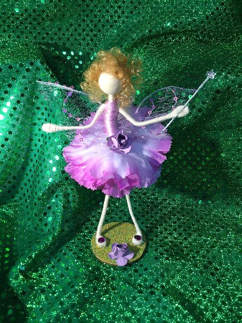 Isla - Carnation Clan - Small Standing Fairy