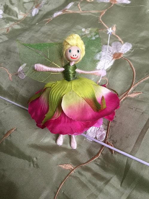 Rose Flower Fairy Doll