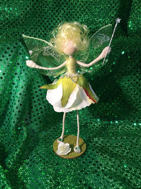 Aubrey - Rose Clan - Small Standing Fairy