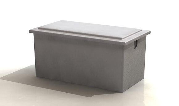 455 Litre Insulated One Piece Cold Water Storage Tank o/s