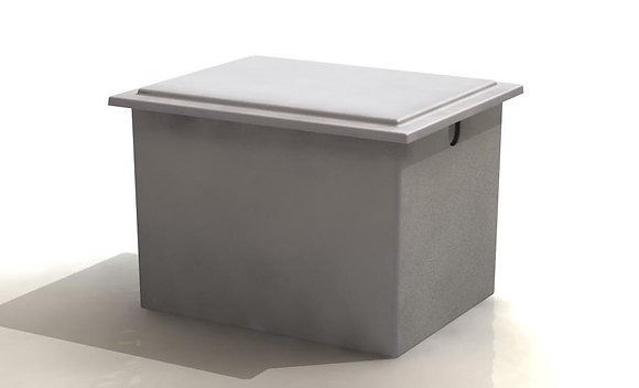 910 Litre Insulated One Piece Cold Water Storage Tank