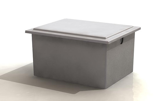 682 Litre Insulated One Piece Cold Water Storage Tank