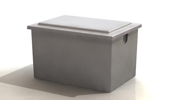 318 Litre Insulated One Piece Cold Water Storage Tank