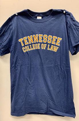 Gildan Navy College of Law Block T-Shirt