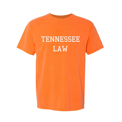 Tennessee Law Orange Comfort Colors Tee