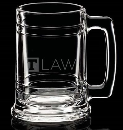 "15oz""T-Law"" Deep Etch Beer Stein"