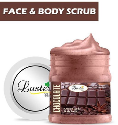 Luster Face & Body Scrub