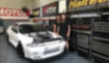 R32 GTR shop car