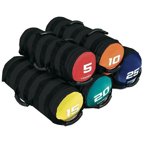 Sacca appesantita per allenamento funzionale 10 kg Power Bag Toorx