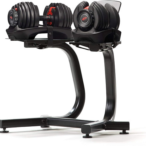 Bowflex Select Tech 552i 51928 - Set di manubri con supporto