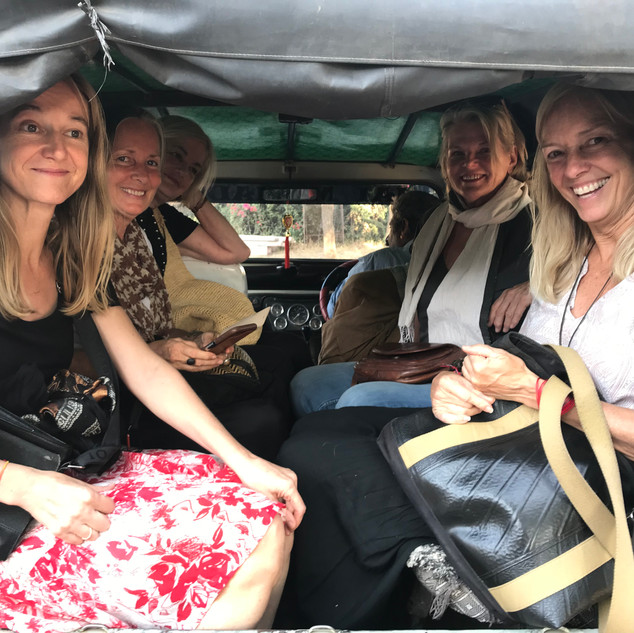 On the bus Raika Journey Group 2018