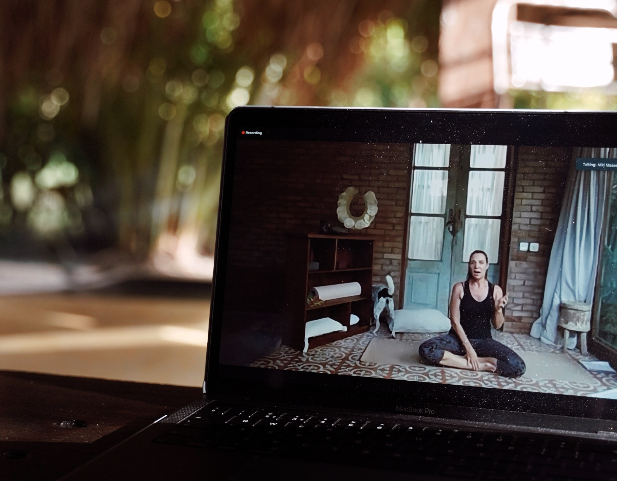 Online Hatha Yoga, Mon 4pm Bali, 9am UK