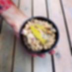 vegan tonijnsalade tunasalad van kikkererwten chickpeas